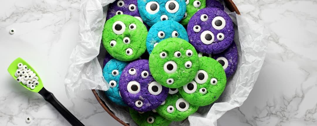 Monster Cookie for Halloween