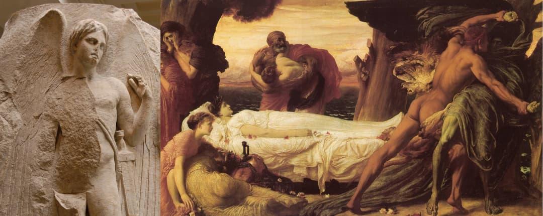 Thanatos the Greek God of Death