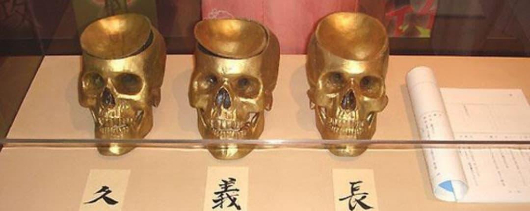 Nobunaga Skull Cup