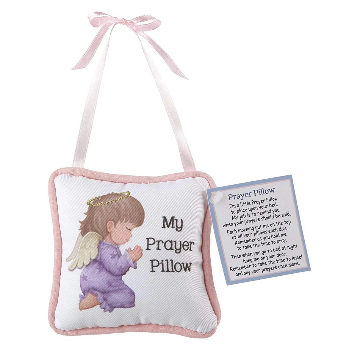prayer pillow praying baby girl angel jubilee gift shop