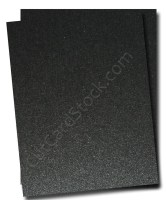 Stardream Metallic ONYX (Black)  105lb Cardstock -25 pk
