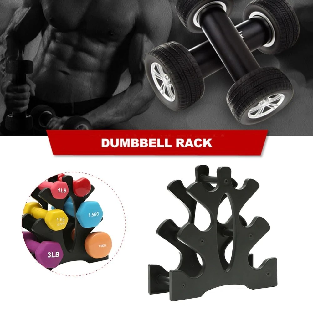 3 tier dumbbell storage rack stand multi layer hand held dumbbell storage rack home office gym dumbell weight rack high quality