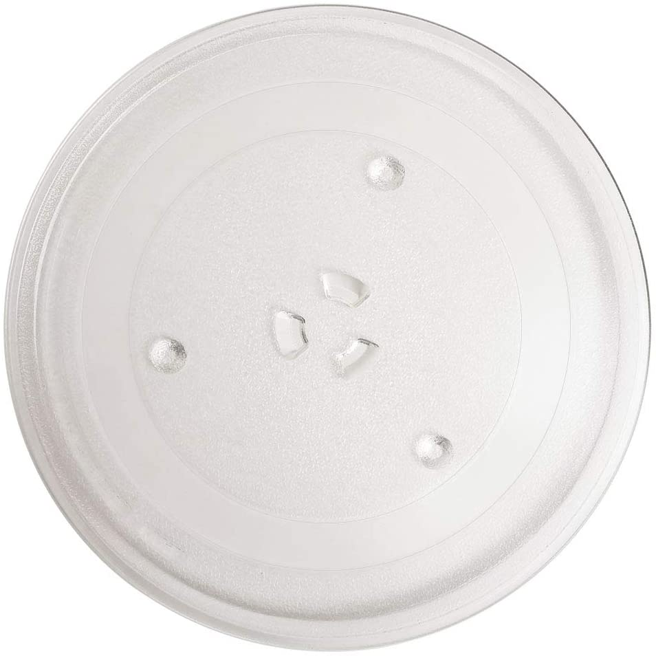 11 25 microwave glass plate microwave glass turntable replacement equivalent to de63 00536a wb49x10097 wb49x10224 compatible with ge and samsung