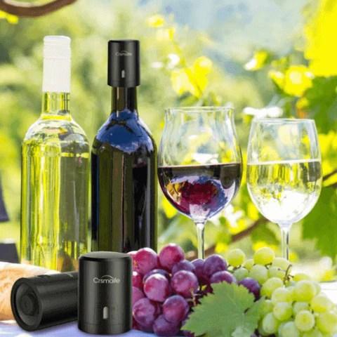 Rolha à Vácuo para deixar Vinho Fresco