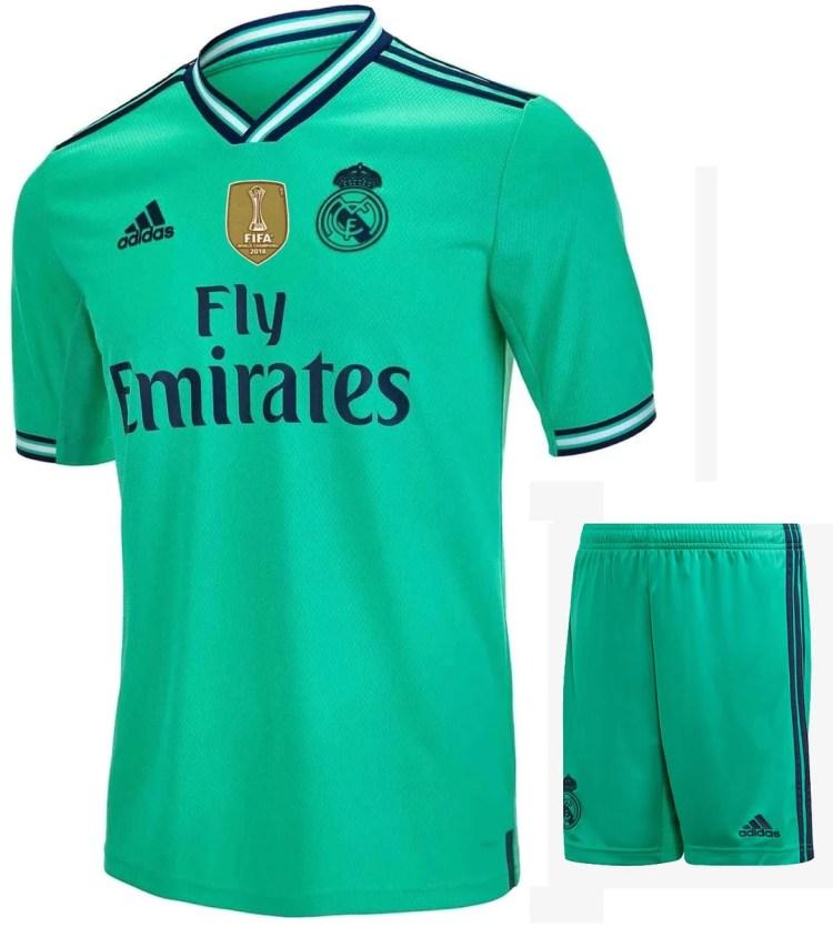 Real Madrid Away Football Jersey New Season 2018-19 kit ...