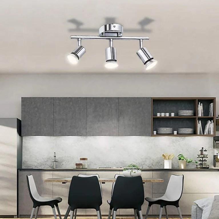 3 led light track lighting ceiling or wall mount