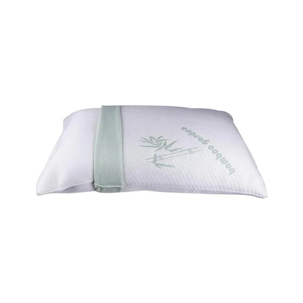 bamboo memory foam pillow with free shipping a pillow case with zipper for easy machine wash maintenance