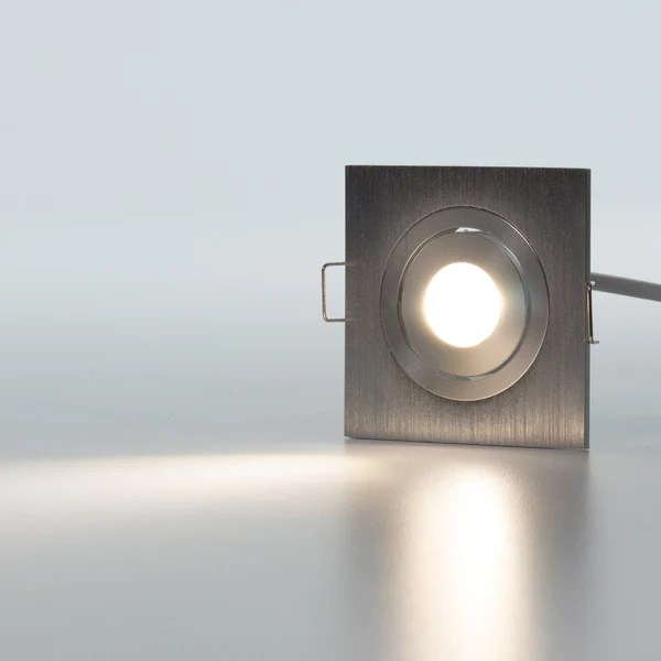 Modern Micro Series 1 Led Recessed Light For Flat Or