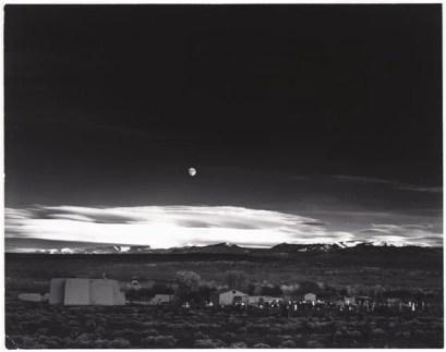 Ansel Adams, Moonrise Hernandez by Ansel Adams