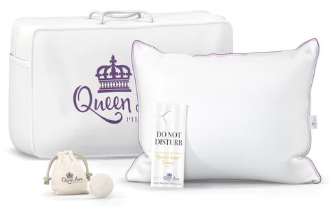 the original queen anne pillow 100 ethical goose down