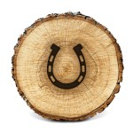 Lumberjack Tools Wood Burning Stencil Horse Shoe Clearance