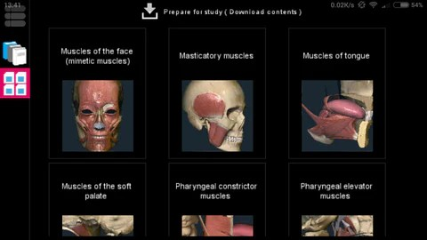 Anatomy Learning App for Android