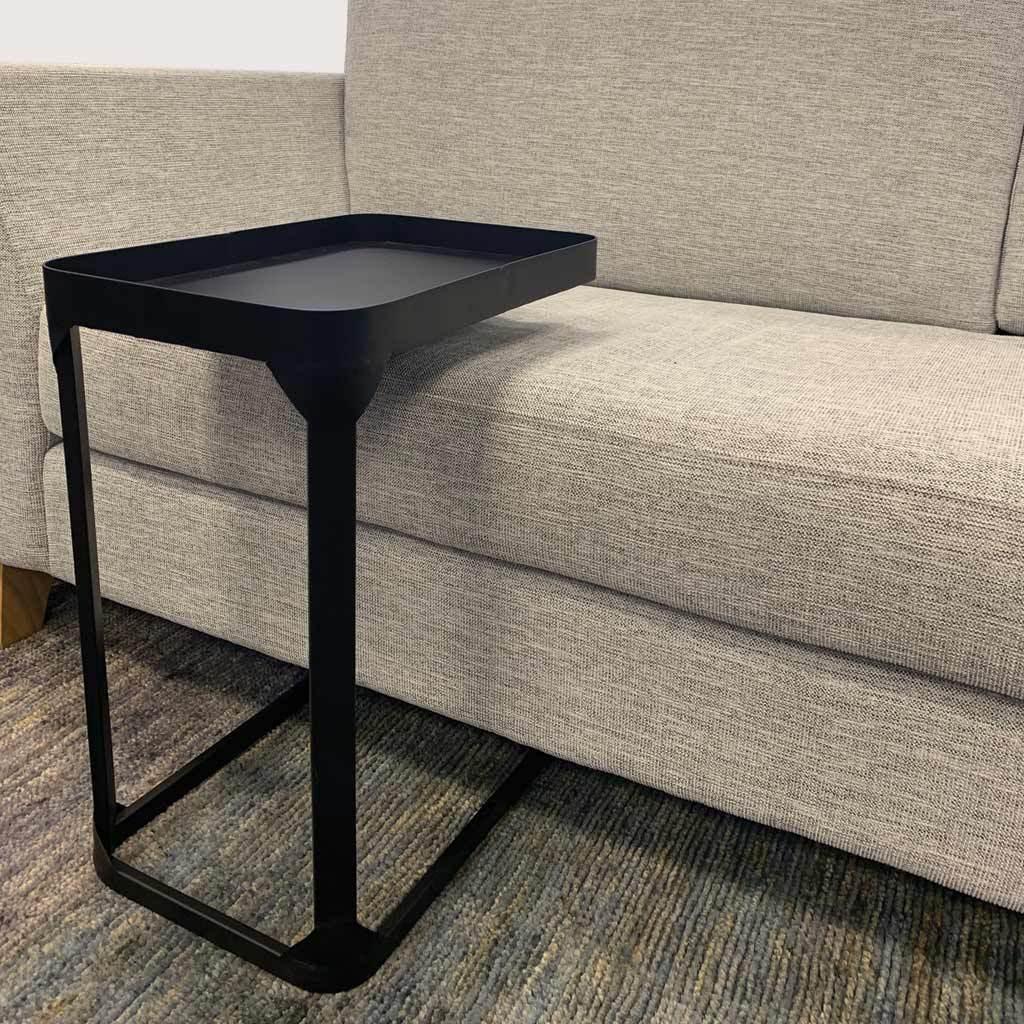 metal side sofa table