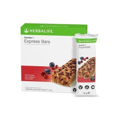 Formula 1 Express Bar Red Berries and Yoghurt 7 Bar 56 gr. Per bar | Happy Healthy Life South Africa
