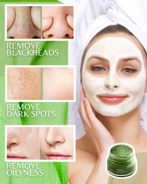 Glossy Green Bean Mud Mask
