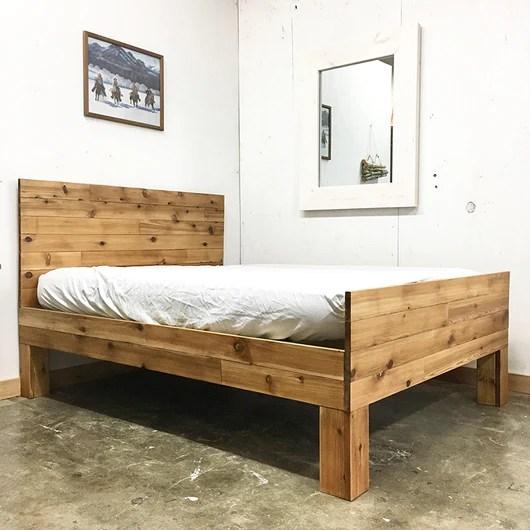 Alpine Sleigh Platform Bed Frame And Headboard Urban Billy
