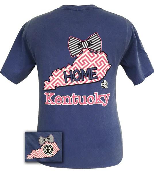 Girlie Girl Originals Kentucky Preppy State Bow Comfort