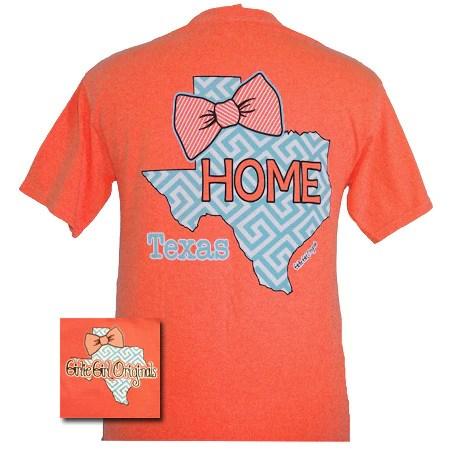 Girlie Girl Originals Texas Preppy State Bow Comfort
