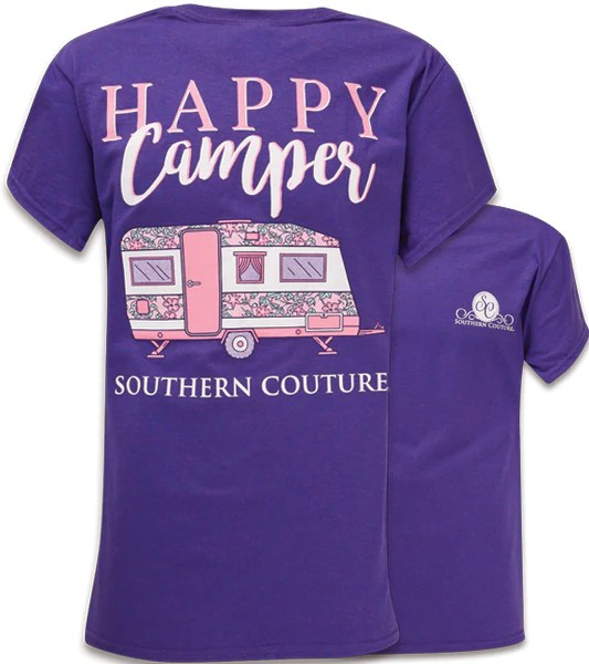 Long Southern Purple Sleeve Shirt