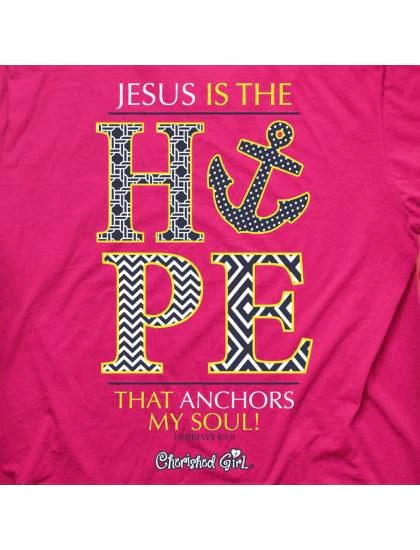 Cherished Girl Jesus Is The Hope That Anchors My Soul