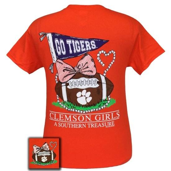 South Carolina Clemson Tigers Southern Treasure T Shirt
