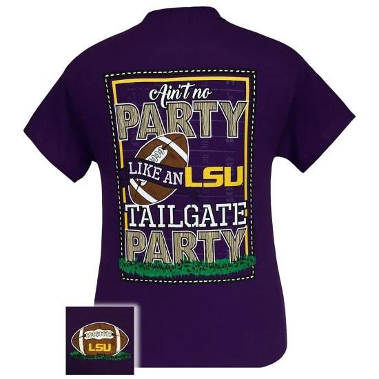 Louisiana State LSU Tigers Baton Rouge Tailgate Party T