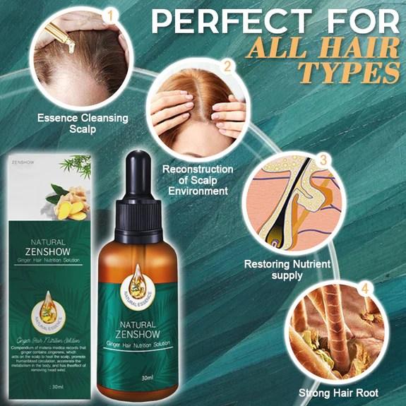 Ginger Plus Hair Oil