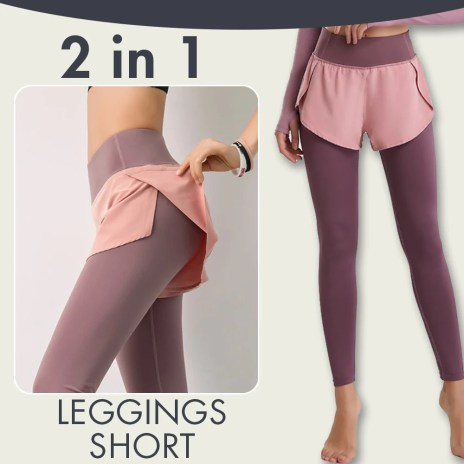Two Piece Invisible Pocket Leggings