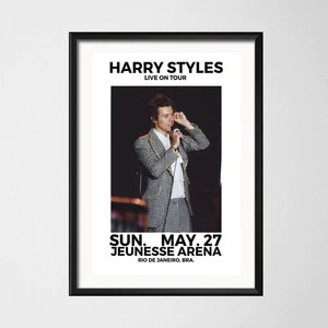 posters and prints harry styles world