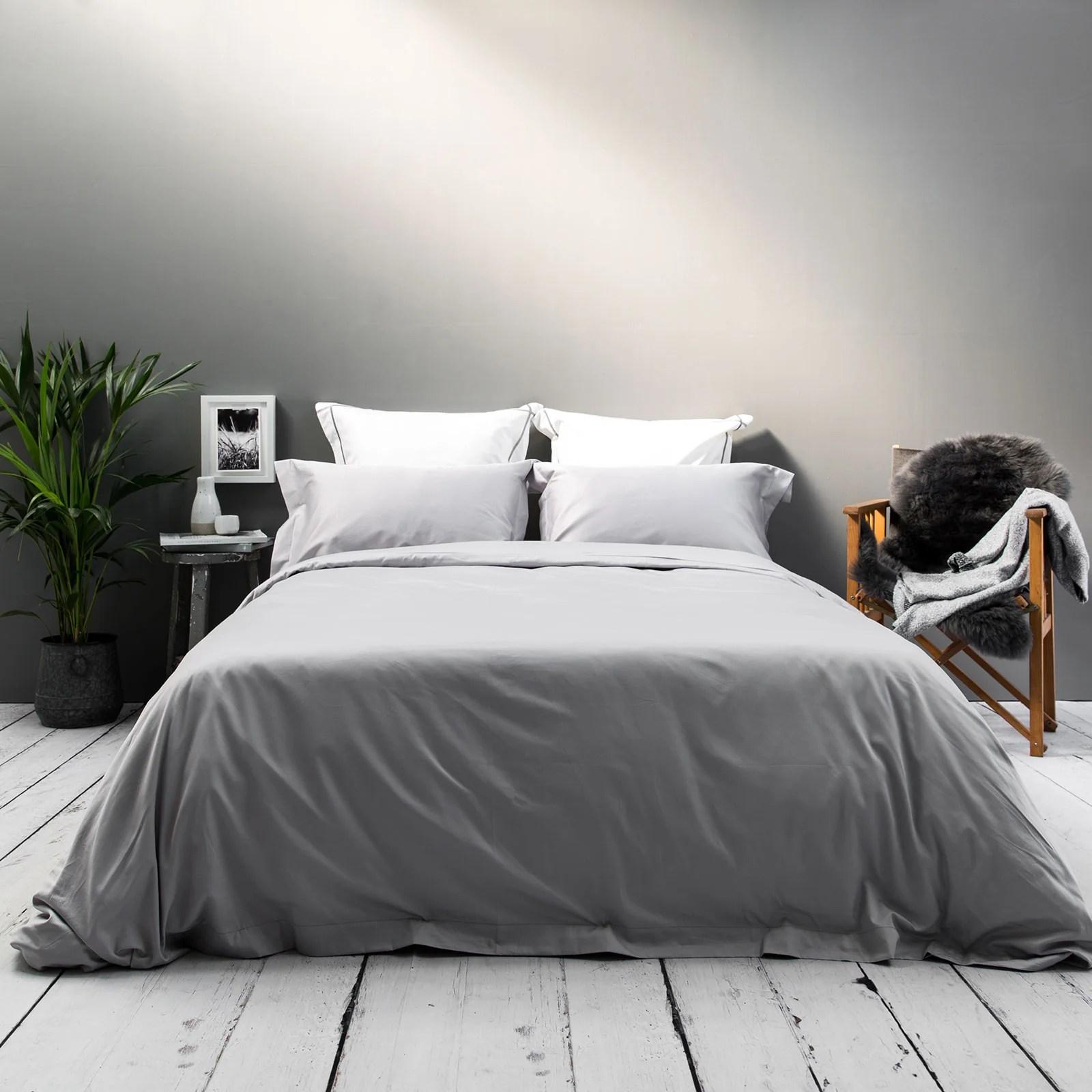 silver 400tc bedding set