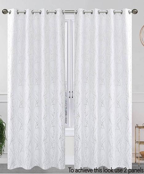 elaine 1 panel curtain set blackout solid 54
