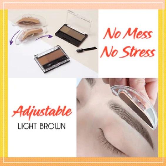 Adjustable Perfect Eyebrow With Stamp