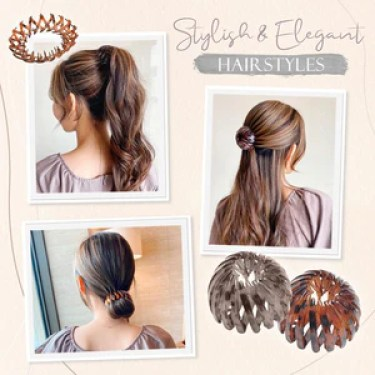 Lazy Hair Coil-Ponytail Hairpin