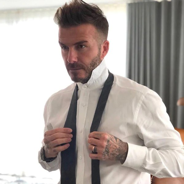 Image Result For David Beckhlong Hairstyle