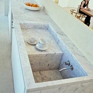 new carved italy white natural marble kitchen sink price