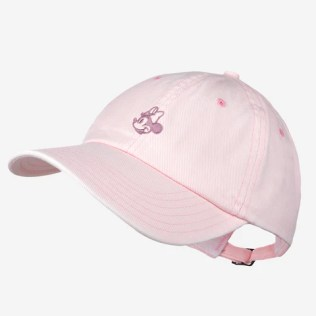 Pre-Order Light Pink Minnie Mouse Washed Denim Cap