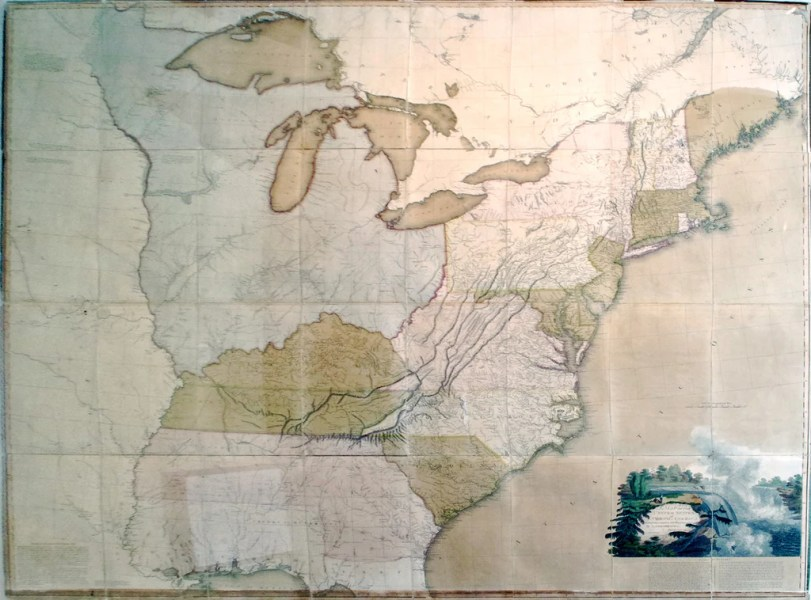 ARROWSMITH  Aaron Sr   1750 1823   A Map of the United States of     A Map of the United States of North America  London  A  Arrowsmith  1796
