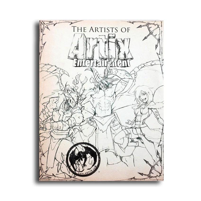 The Artists of Artix Entertainment Book