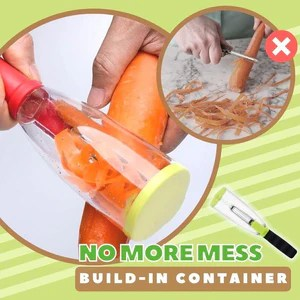 Stainless Mess-Free Quick Peeler