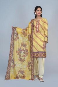 Bonanza Satrangi RSO213P13  Yellow Summer Collection