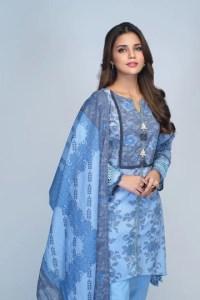 Bonanza Satrangi RSO213P20  Blue Summer Collection