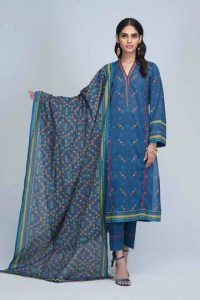 Bonanza Satrangi RSO213P36B  Blue Summer Collection