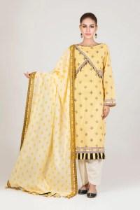 Bonanza Satrangi RSO213P83  Yellow Summer Collection