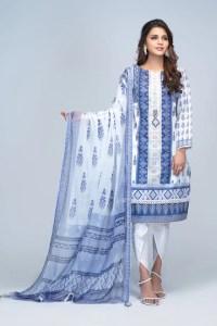 Bonanza Satrangi RSO213P85B  Blue Summer Collection