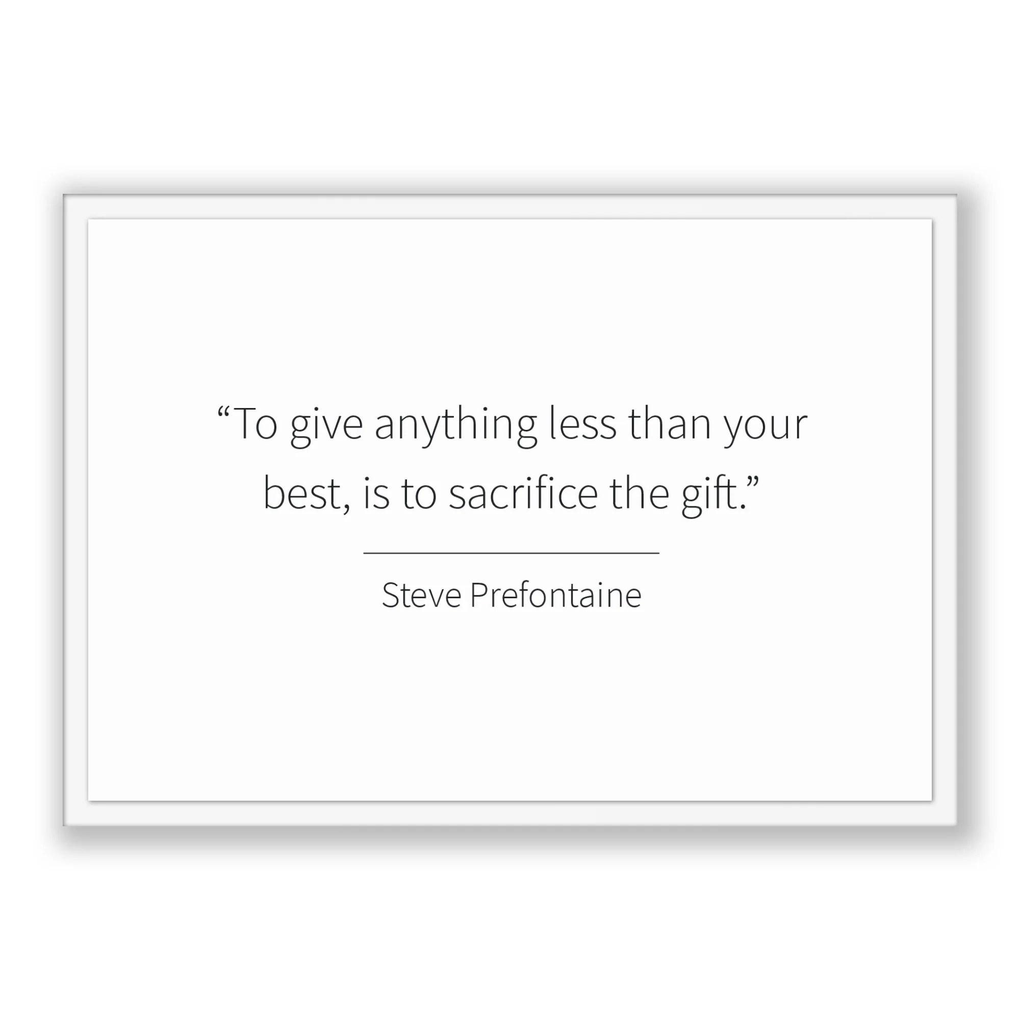 steve prefontaine quote steve