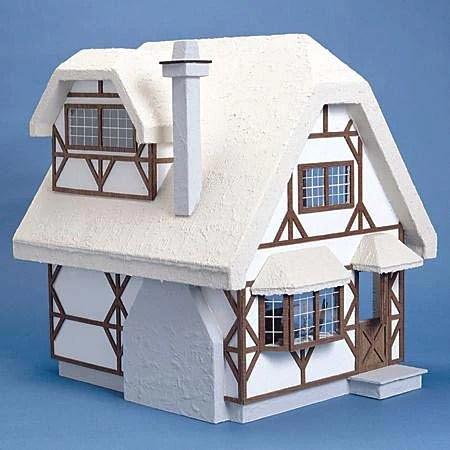 Aster Cottage Dollhouse Kit The Magical Dollhouse
