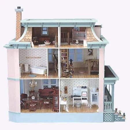 Lily Dollhouse Kit The Magical Dollhouse