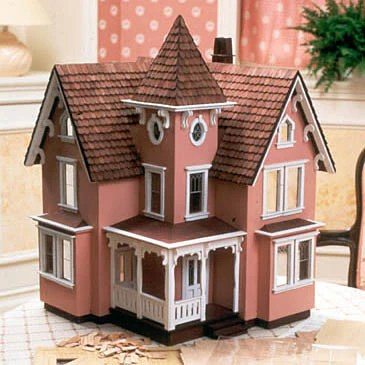 12 Scale Farmhouse Dollhouse Kit The Magical Dollhouse