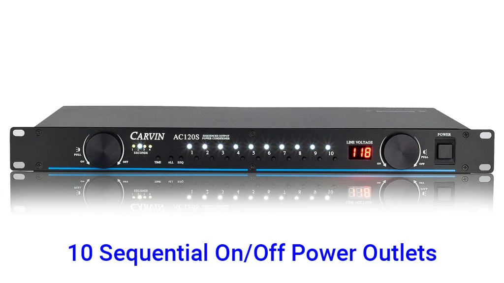 ac120s power conditioner sequencer
