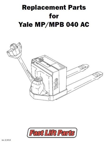 125,000 Yale Parts & Yale Lift Truck Replacement Parts – Fast Lift Parts